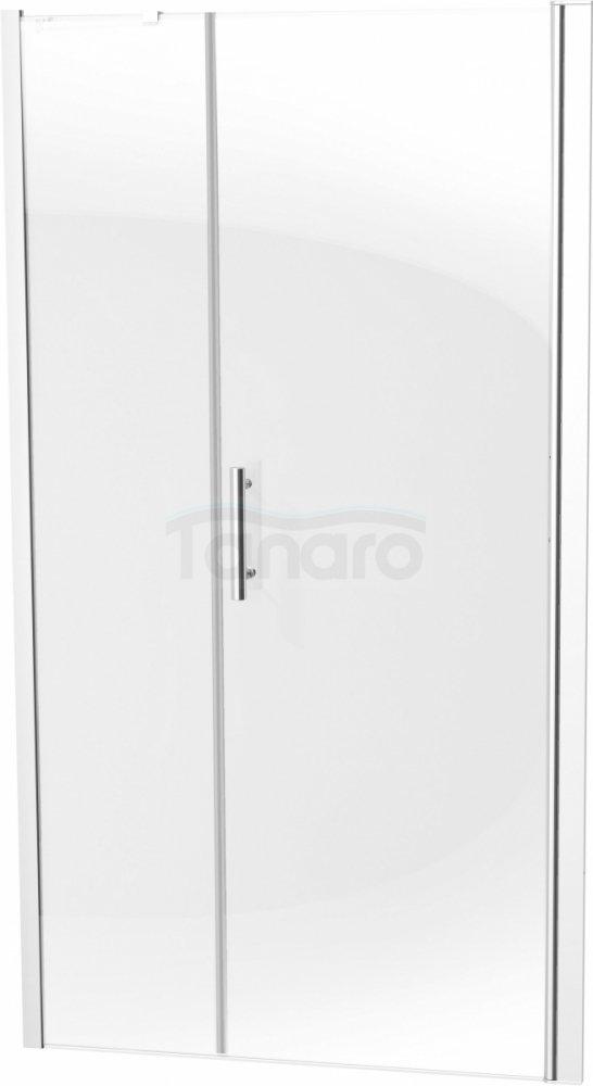 DEANTE Drzwi wnękowe prysznicowe uchylne MOON 120x200 KTM 014P