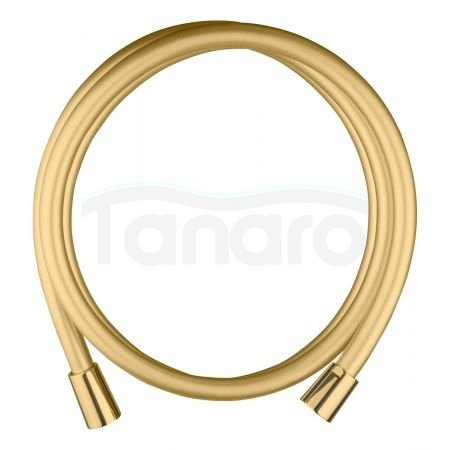 Oltens Ronneby wąż prysznicowy 160 cm złoty połysk 37201800