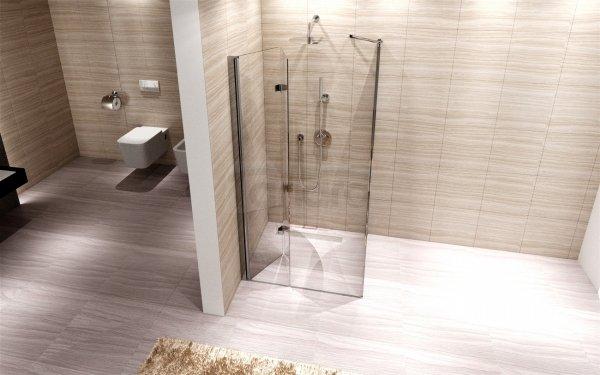 Rea - Kabina prysznicowa z pojedynczymi drzwiami składanymi MYSPACE N