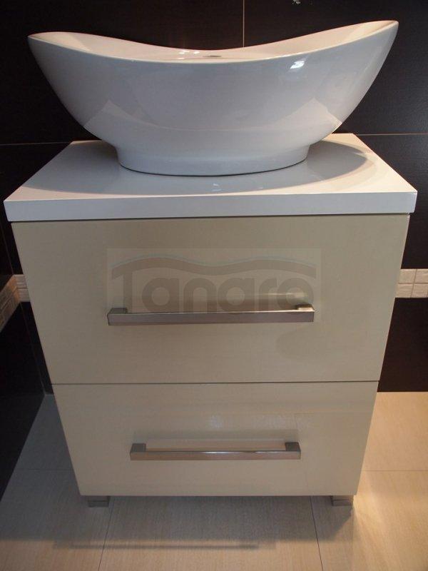 REA - Umywalka ceramiczna nablatowa ROSA
