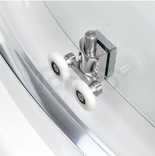 New Trendy - Kabina prysznicowa przyścienna NEW RONDO  Linia Gold K-0275