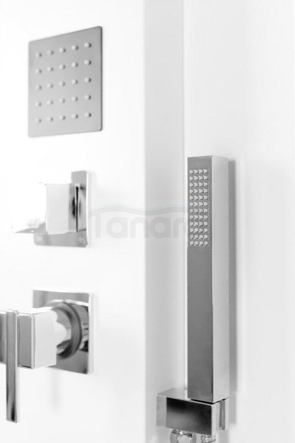 REA - Panel natryskowy 9786 WHITE biały