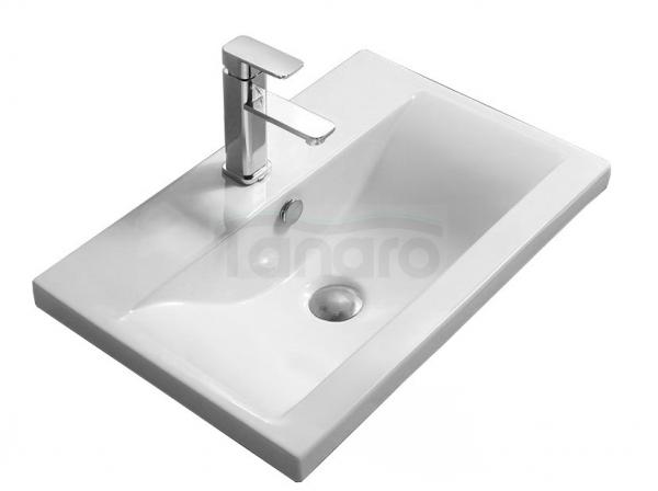 REA - Umywalka ceramiczna wpuszczana w blat AMY 60