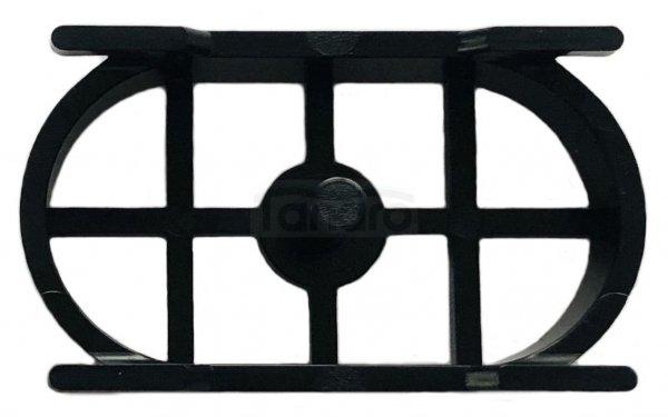 BW-TECH Odpływ liniowy podłogowy SLIM – INVISIBLE CZARNY/BLACK Obrotowy syfon – 360o Stal nierdzewna (AISI 304) ROZMIARY 50-120cm