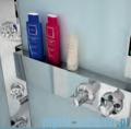 Novellini Glax 3 kabina prysznicowa masażowo-parowa 90x70 lewa srebrny GL3A7090ST1N-1B