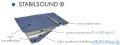 Schedpol brodzik posadzkowy podpłytkowy ruszt Steel 80x80x5cm 10.001/OLKB/SL