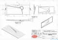 Vayer Bumerang 120x50cm Umywalka prostokątna blatowa