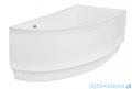 Besco Praktika 140x70cm wanna asymetryczna prawa + obudowa + syfon