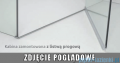 Radaway Euphoria KDJ Kabina prysznicowa 110x80 lewa szkło przejrzyste z progiem