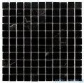 Dunin Black & White mozaika kamienna 30x30 Pure Black 25