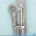 Novellini Glax 3 standard kabina prysznicowa 120x90 prawa srebrny GL32P299DM-1B
