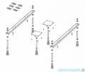 Riho Lyra wanna asymetryczna 170x110cm lewa nóżki+syfon BA64/07/495121