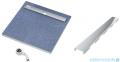 Schedpol brodzik posadzkowy podpłytkowy ruszt Stamp 80x80x5cm 10.021/OLSP