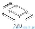 SanSwiss PWIU Obudowa do brodzika 3-stronna 90x120cm czarna PWIU901209006