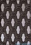 Domino Opium grafit dekor ścienny 25x36