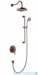 Omnires Armance kompletny łazienkowy system podtynkowy miedź antyczna SYSAM20ORB
