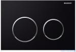 Geberit Omega20 przycisk spłukujący czarny/chrom błyszczący/czarny 115.085.KM.1
