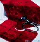 Sealskin Dywanik łazienkowy kontur Tack czerwony 60x45cm 293278659