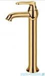 Omnires Art Deco bateria umywalkowa wysoka złoto AD5112/1GL