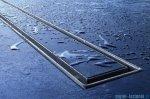 Tece Ruszt prosty Plate ze stali nierdzewnej Tecedrainline do wypełnienia płytkami 90 cm połysk 6.009.70