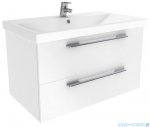 New Trendy Avora szafka umywalkowa 80 cm biały połysk ML-8280