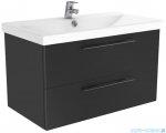 New Trendy Notti szafka umywalkowa 80 cm antracyt połysk ML-9180