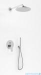 Kohlman Proxima zestaw prysznicowy z deszczownicą 35cm chrom QW210PR35