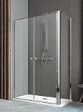 Radaway Eos II DWD+S Kabina 90x80 lewa szkło przejrzyste 3799491-01/3799410-01R