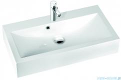 Marmorin umywalka nablatowa Ceto 80cm z otworem biała 170080022011