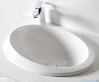 Sanitti Otto umywalka nablatowa 52x36 cm biały mat OTTO-52-BM