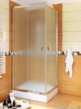 Sea Horse Stylio kabina natryskowa kwadratowa 80x80x190 cm chinchila BK501QC+