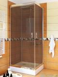 Sea Horse Stylio kabina natryskowa kwadratowa 80x80x190 cm grafit BK501QG+