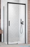 Radaway Idea Black Kdj ścianka boczna 120cm lewa szkło przejrzyste 387054-54-01L
