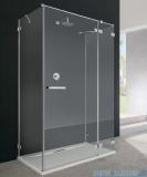 Radaway Euphoria KDJ+S kabina przyścienna 90x100x90 prawa szkło przejrzyste + brodzik + syfon 383612-01R/383220-01R/383050-01/383030-01/4AD910-01