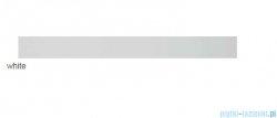 Radaway Slim Glass White odpływ liniowy 85x6cm 5L085S/5R085SGW