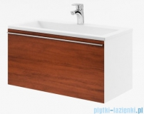 Ravak Clear szafka pod umywalkę 80 biała/orzech X000000758