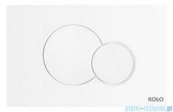 Koło Eclipse2 przycisk spłukujący biały 94150-001