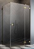 Radaway Essenza Pro Gold Kdj kabina 90x70cm prawa przejrzyste 10097090-09-01R/10098070-01-01