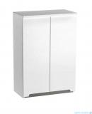 Oristo Silver szafka górna 60x71x25cm biały połysk OR33-SG2D-60-1