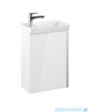 Elita Spring Set szafka z umywalką komplet 45x66x27cm biały połysk 167362