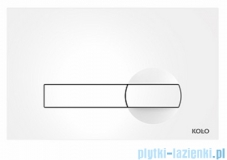 Koło Clip przycisk spłukujący do stelaża Technic GT do WC biały 94163-001