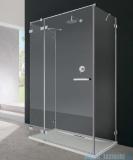 Radaway Euphoria KDJ+S kabina przyścienna 80x120x80 lewa szkło przejrzyste + brodzik + syfon 383812-01L/383220-01L/383051-01/383031-01/4AD812-01