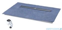 Schedpol brodzik posadzkowy podpłytkowy ruszt Steel 140x90x5cm 10.012/OLDB/SL