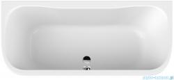 Sanplast Luxo WSP-kpl/LUXO Wanna przyścienna 80x180 cm + stelaż 610-370-0280-01-000