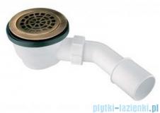 McAlpine Syfon brodzikowy 90'' pokrywa kolorze antyczny brąz HC27-ABBR