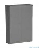 Oristo Silver szafka górna 50x71x15cm szary mat OR33-SG2D-50-4