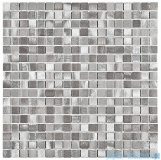 Dunin Metallic Allumi Dark Mix 15 mozaika metalowa 30x30