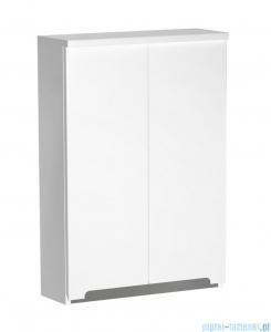 Oristo Silver szafka górna 50x71x15cm biały połysk OR33-SG2D-50-1