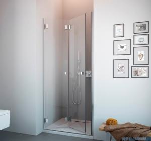 Radaway Carena DWB Drzwi prysznicowe 80 lewe szkło brązowe 34512-01-08NL