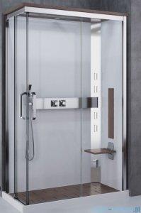 Novellini Nexis kabina prysznicowa z hydromasażem 120x80 prawa burlington NEXA129DT5-1KN